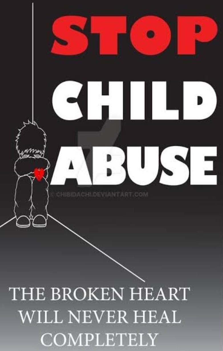 Slogans stop child abuse Prevent Child