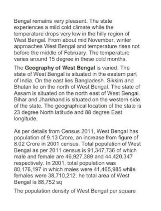 About rainy season written in Bengali - Brainly in
