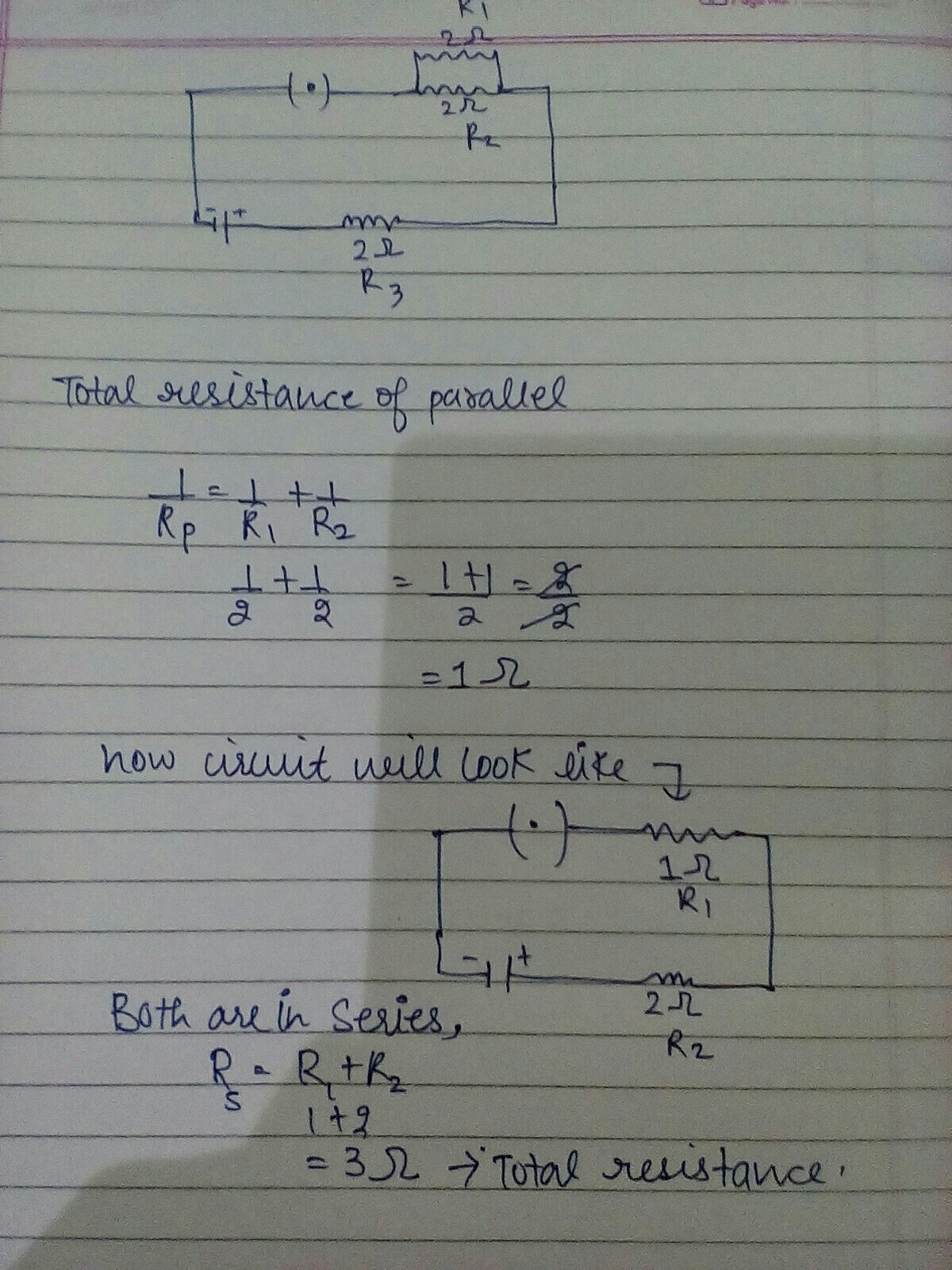 How To Solve The Numericals Of Electricity In Which Both Parallel Circuit Can Total Resistance A Download