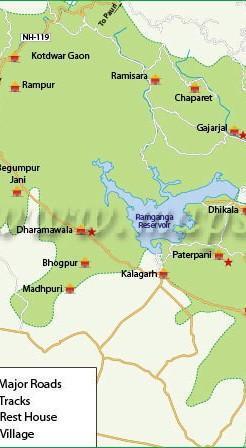 On world map show Gir national park in India ,jim Corbett ...