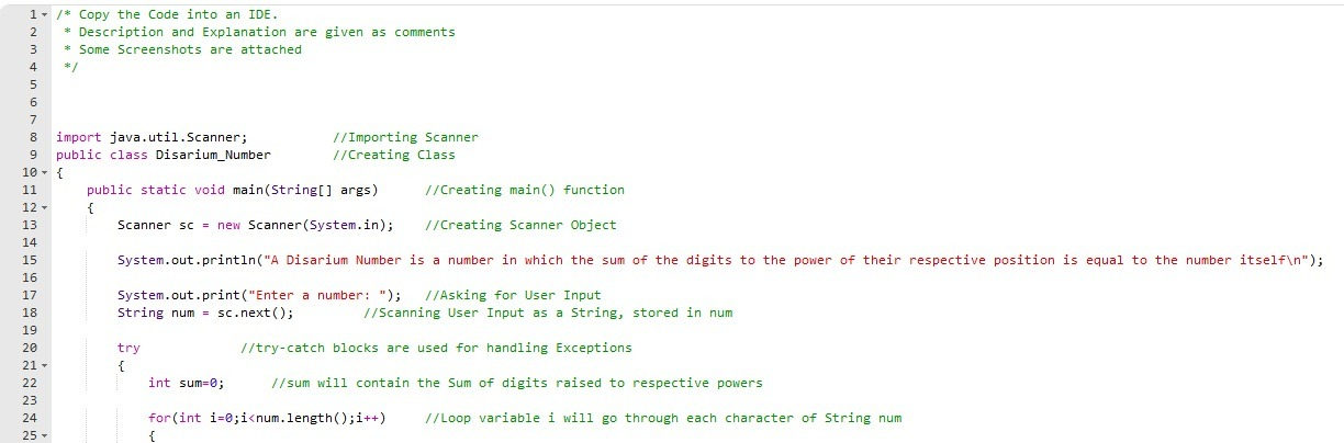 Java programming write a program to input a number and display