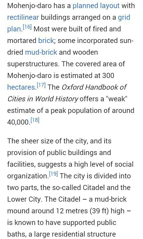 features of mohenjo daro
