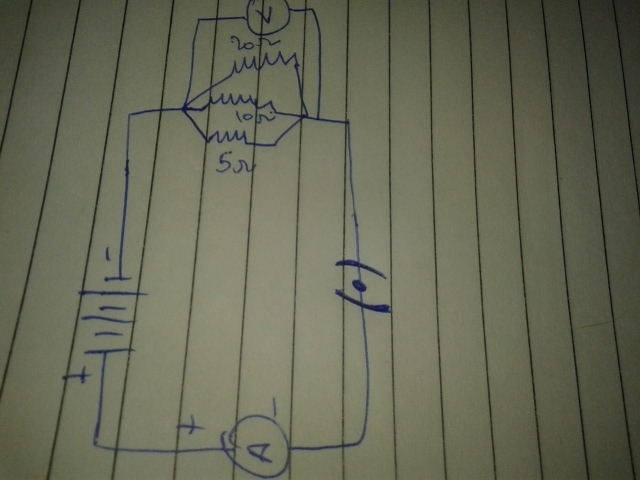 Can You Draw A Schematic Diagram Of A Circuit Consisting Of A