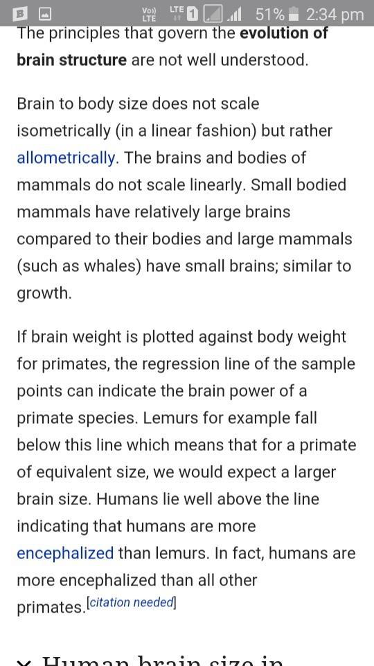 Information About Evolution Of Brain Of Vertebrates Brainly