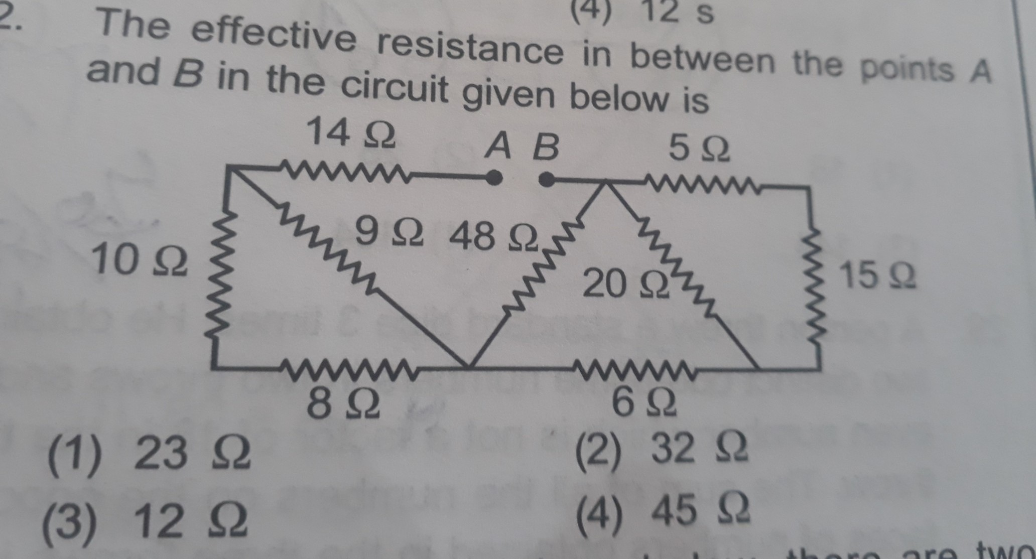 Find The Total Resistance Full Explain Step By For Parallel Circuit Shown Below Calculate