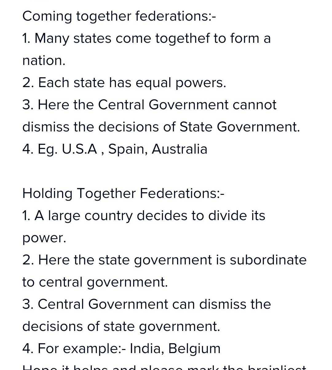 What is the difference between a state and a country?