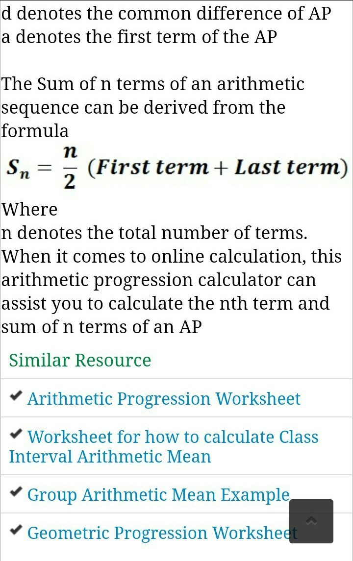 in an ap the first term is -5 and last term is 45   if sum