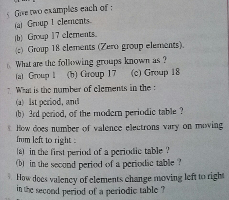Periodic tablepls give the answers of the following questions download jpg urtaz Choice Image