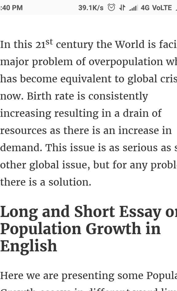 Essays about population explosion does homework help review research
