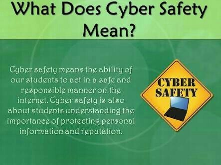 What Is Cyber Safety Why Is It Important Brainly In