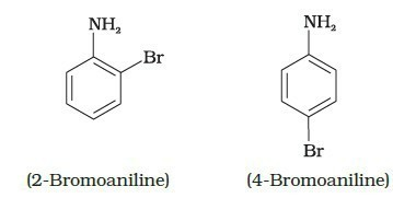 Predict The Product Of Reaction Of Aniline With Bromine In Non Polar Solvent Such As Cs2 Brainly In