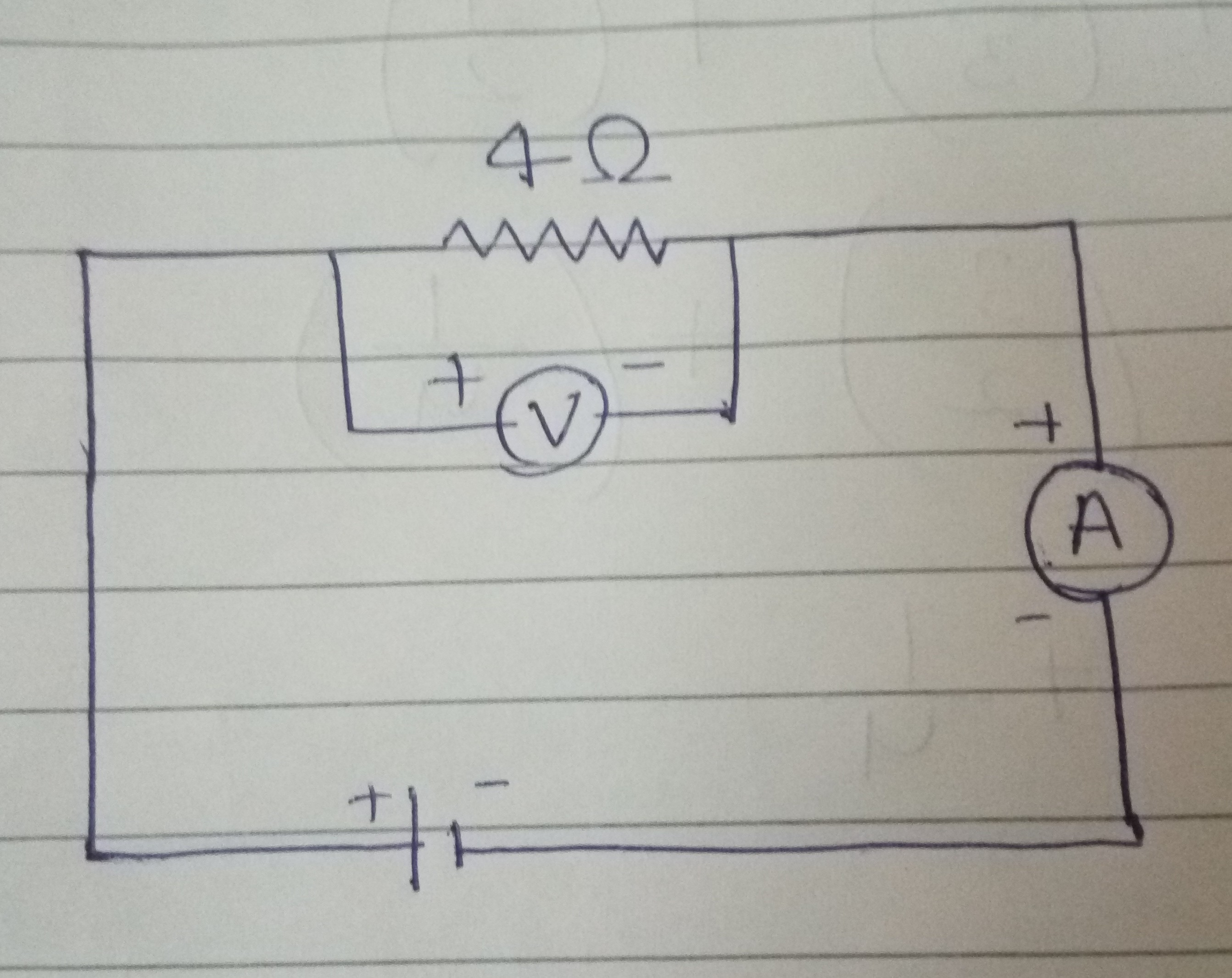 draw a circuit diagram of an electrical circuit containing a cell ki ...