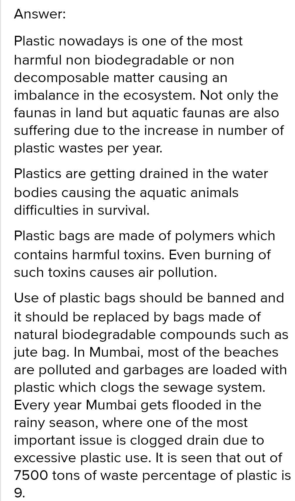 Free essay on plastic pollution interactive presentation tools