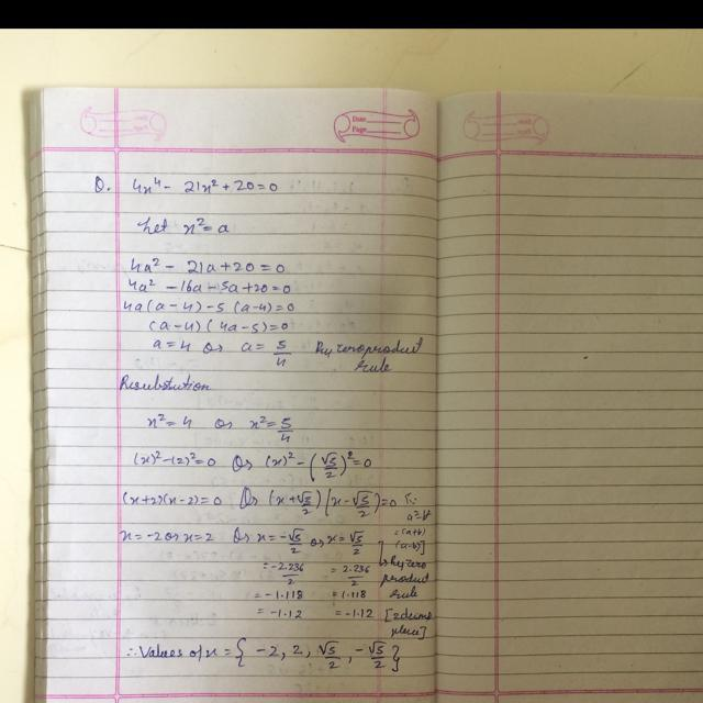 Types of Equations and Examples - ExamPlanning %