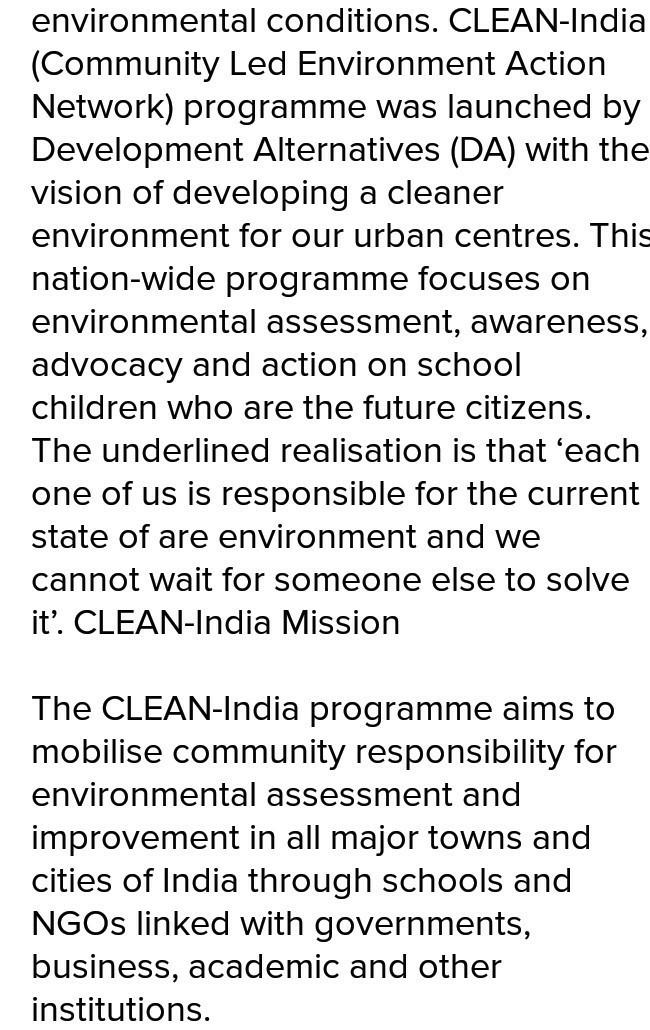 Clean city green city essay english