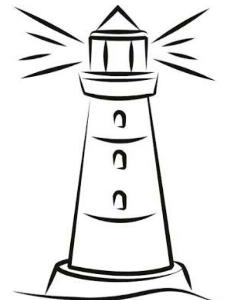 Draw The Easy Drawing Of Lighthouse Brainlyin