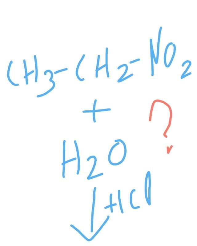 mechanism of hydrolysis of nitroethane - Brainly in