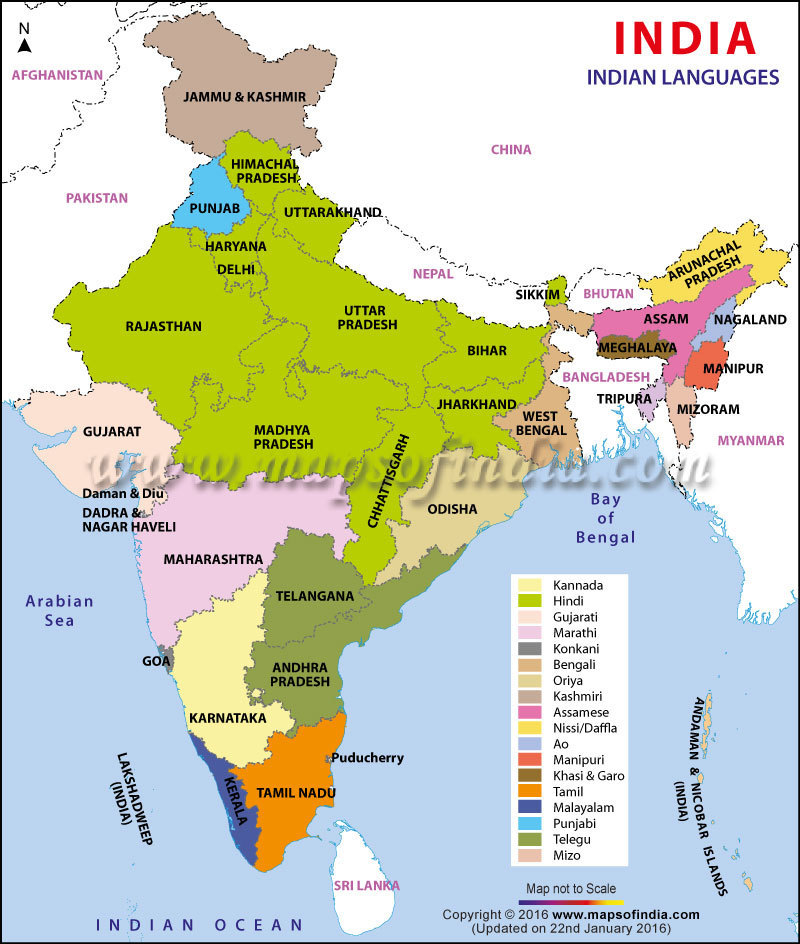 Punjab World Map.On An Outline Map Of India Mark The State Of Punjab Hyderabad And