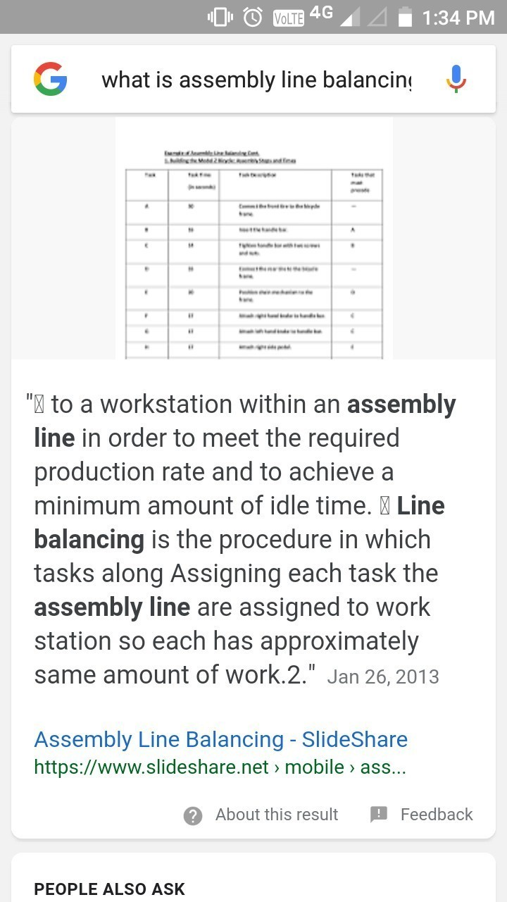 what is assembly line balancing explain with two examples brainly in