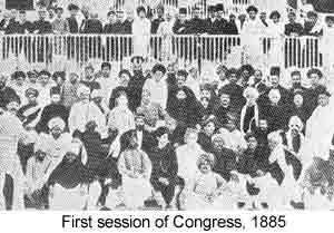 indian national congress formed