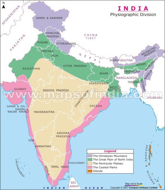 where is eastern and western coastal plains of india in map Brainlyin