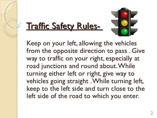 importance of traffic rules in our daily life in  jpg
