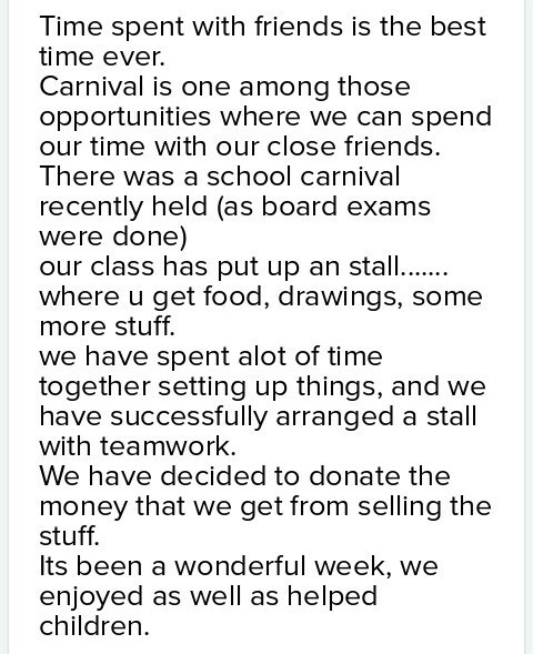 essay on a school carnival or fete is a great occasion for fun with  download jpg