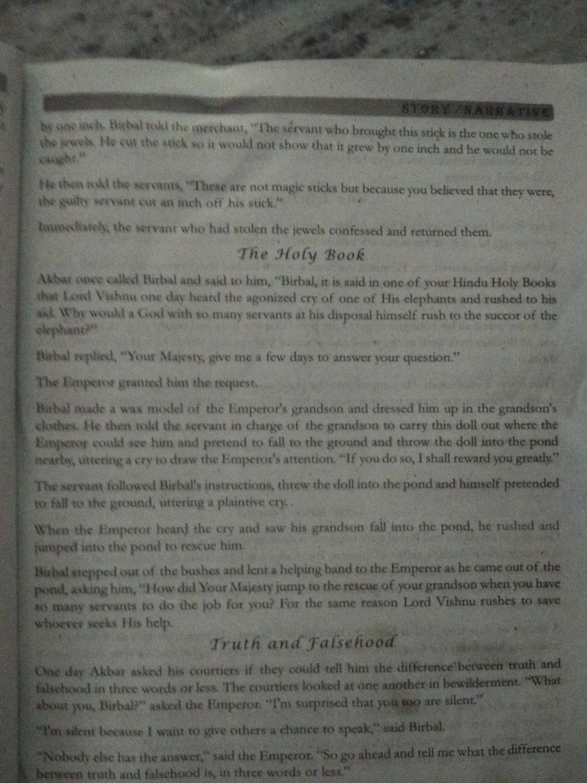 Birbal Stories In English Pdf