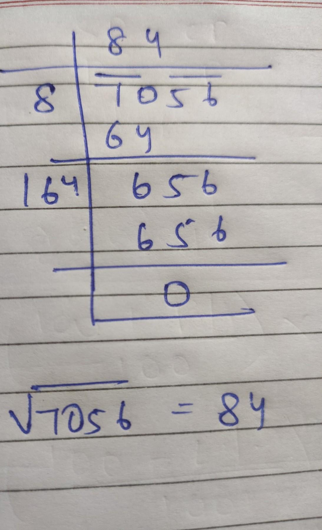 square root of 108241 using long division method - Brainly.in