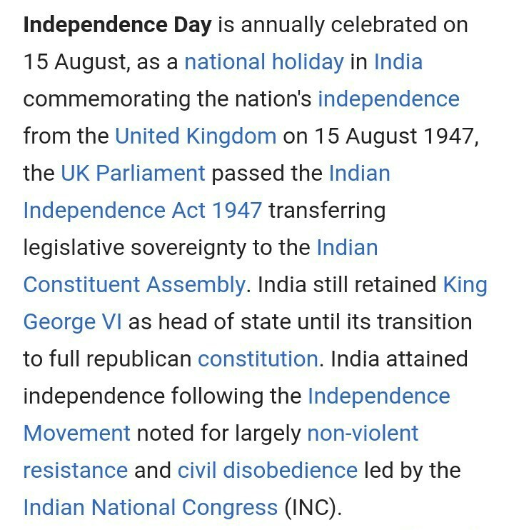 importance of our national flag for independence day