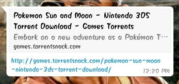 pokemon sun and moon torrent torrent