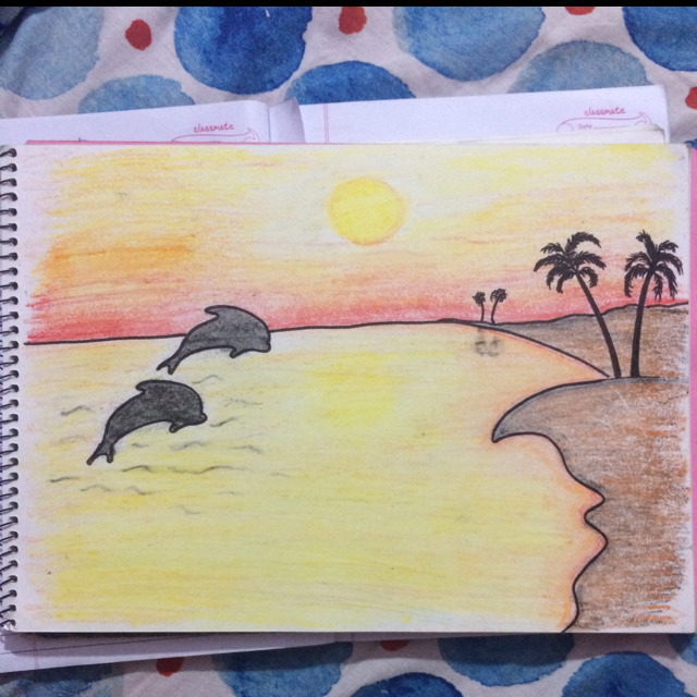 Easy Scenery Paintings To Draw
