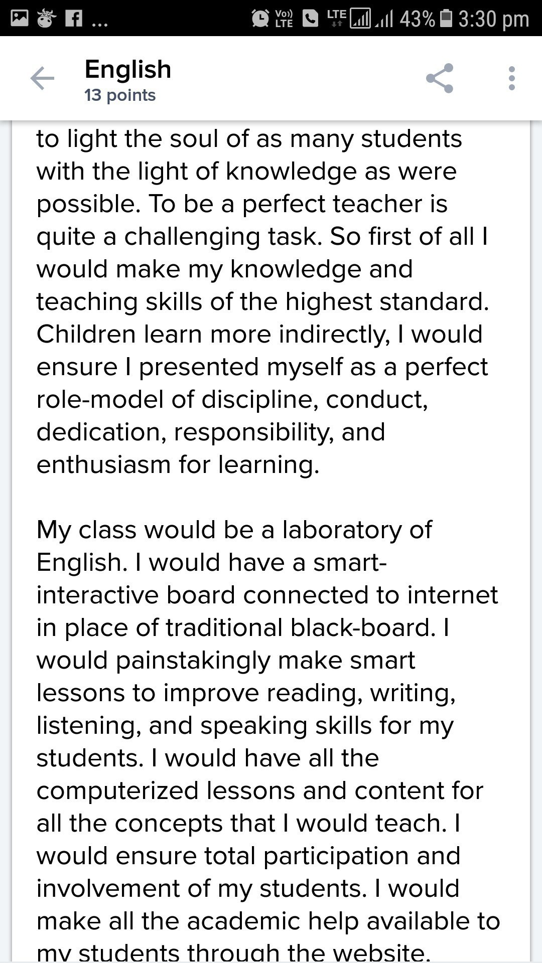 essay on english teacher  pinarkubkireklamoweco essay on if i were an english teacher brainly in