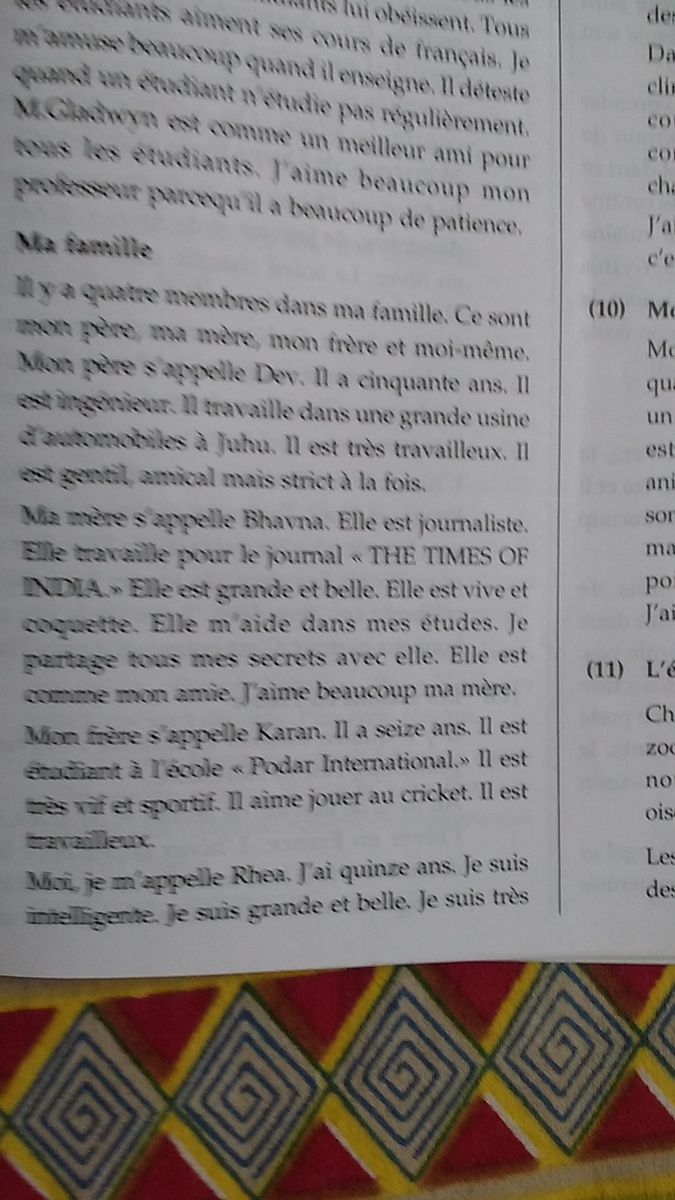 ma famille essay in french in  jpg