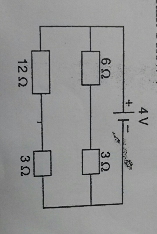 For The Circuit Shown In The Diagram Below What Is The Value Of I