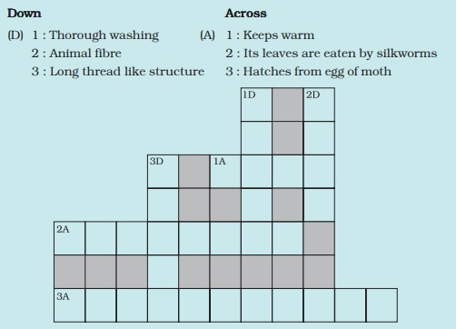 Given Below Is A Crossword Puzzle Based On This Lesson Use Hints To Fill In The Blank Spaces With Brainly In