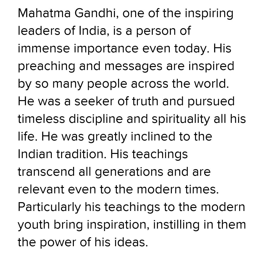 essay on lessons of modern india from mahatma gandhi in  words  download jpg