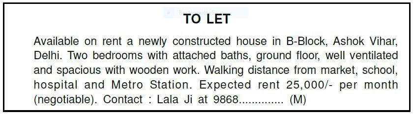 Preposition In Learn In Marathi All Complate: You Have Constructed A New House. You Want To Let Out A