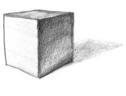 how do we make a 3d cube with shading brainly in