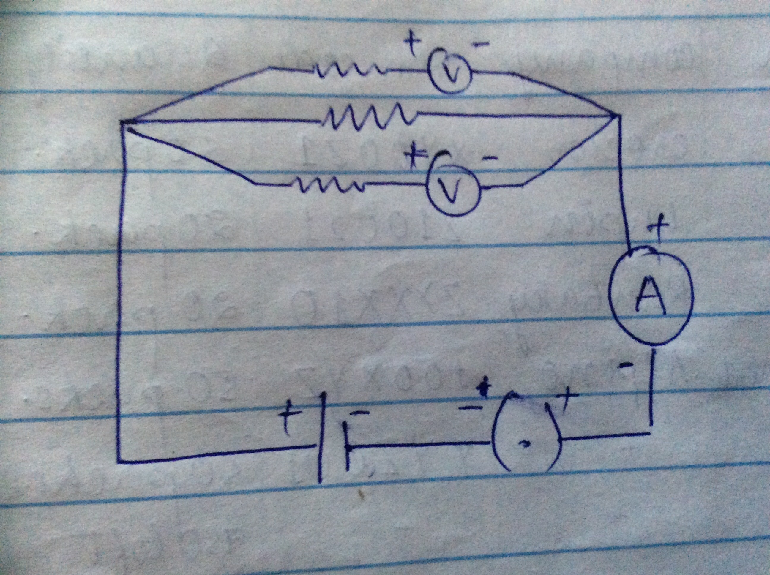 Draw A Circuit Diagram Of An Electric Containing Cella Download