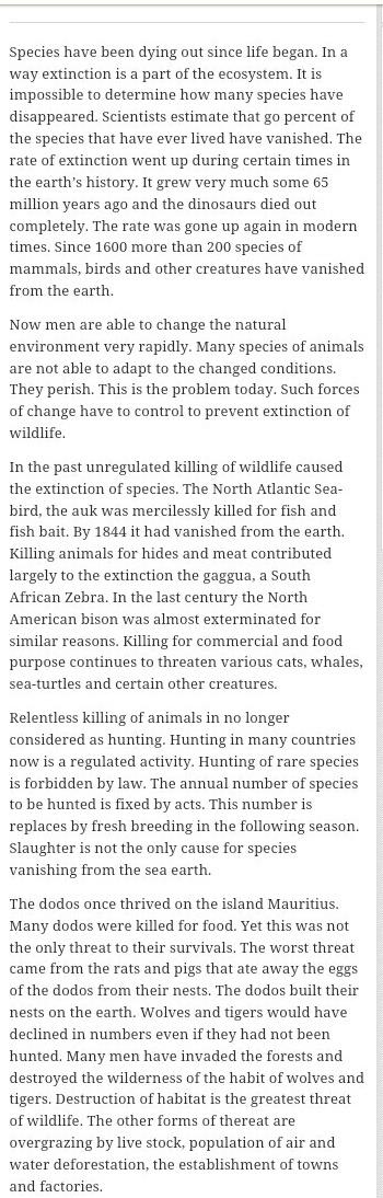 High School Essay Example Download Jpg Health Awareness Essay also Research Essay Proposal Essay On Vanishing Wildlife  Brainlyin 5 Paragraph Essay Topics For High School