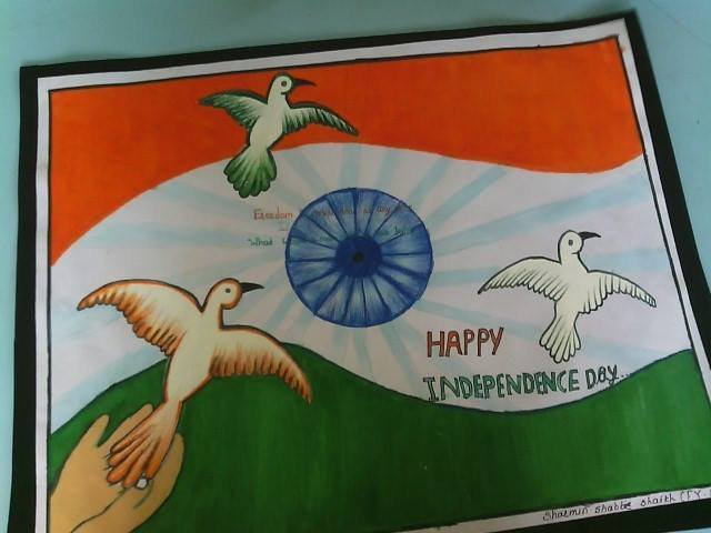 Cute Drawing On Independence Day Brainly In