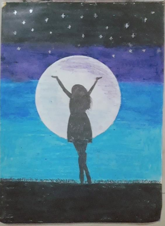 Oil Pastel Drawing For Beginners Easy Handmade Brainly In
