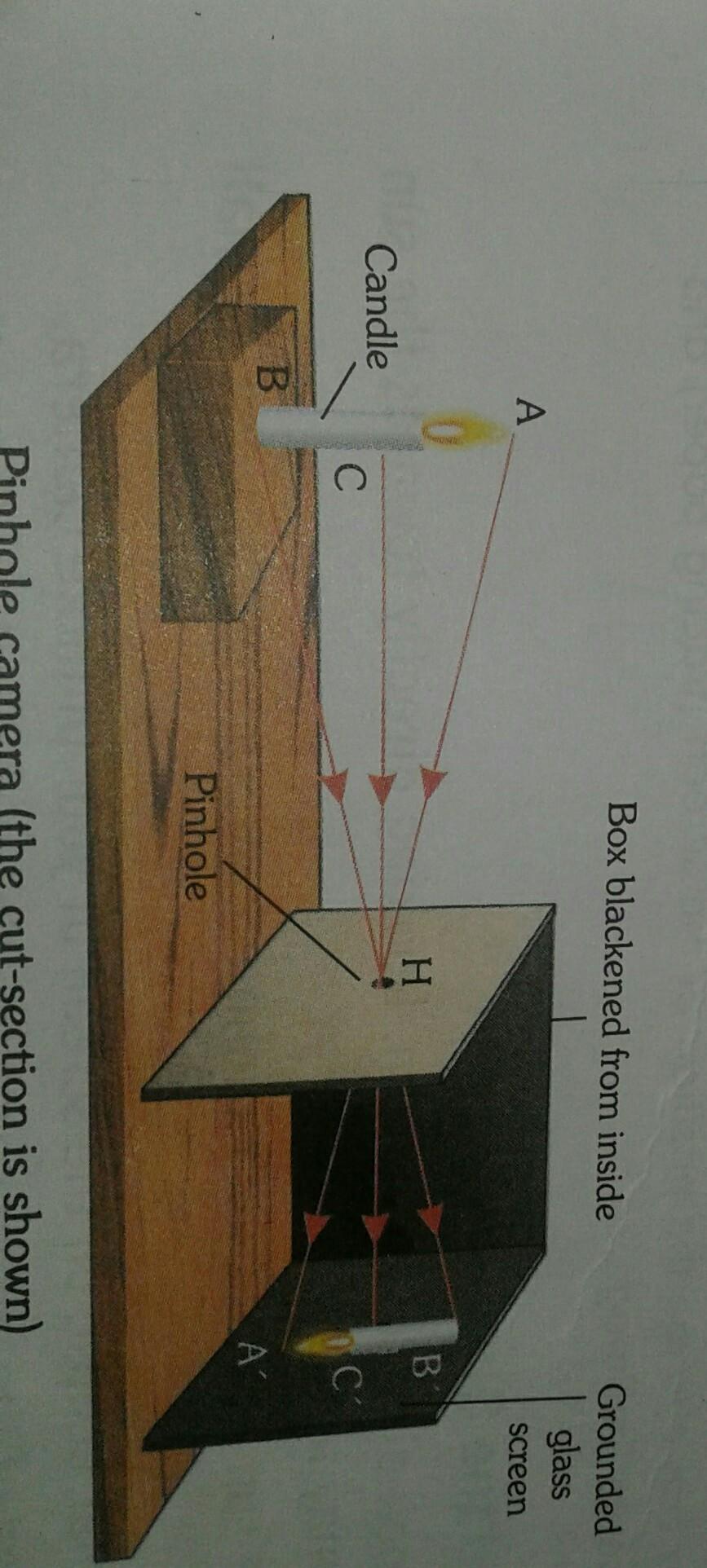 Pinhole Camera Diagram Camera