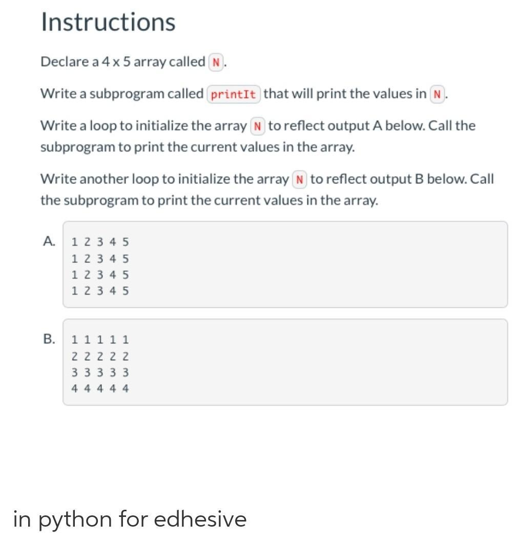 10.6 code practice edhesive - Brainly.in