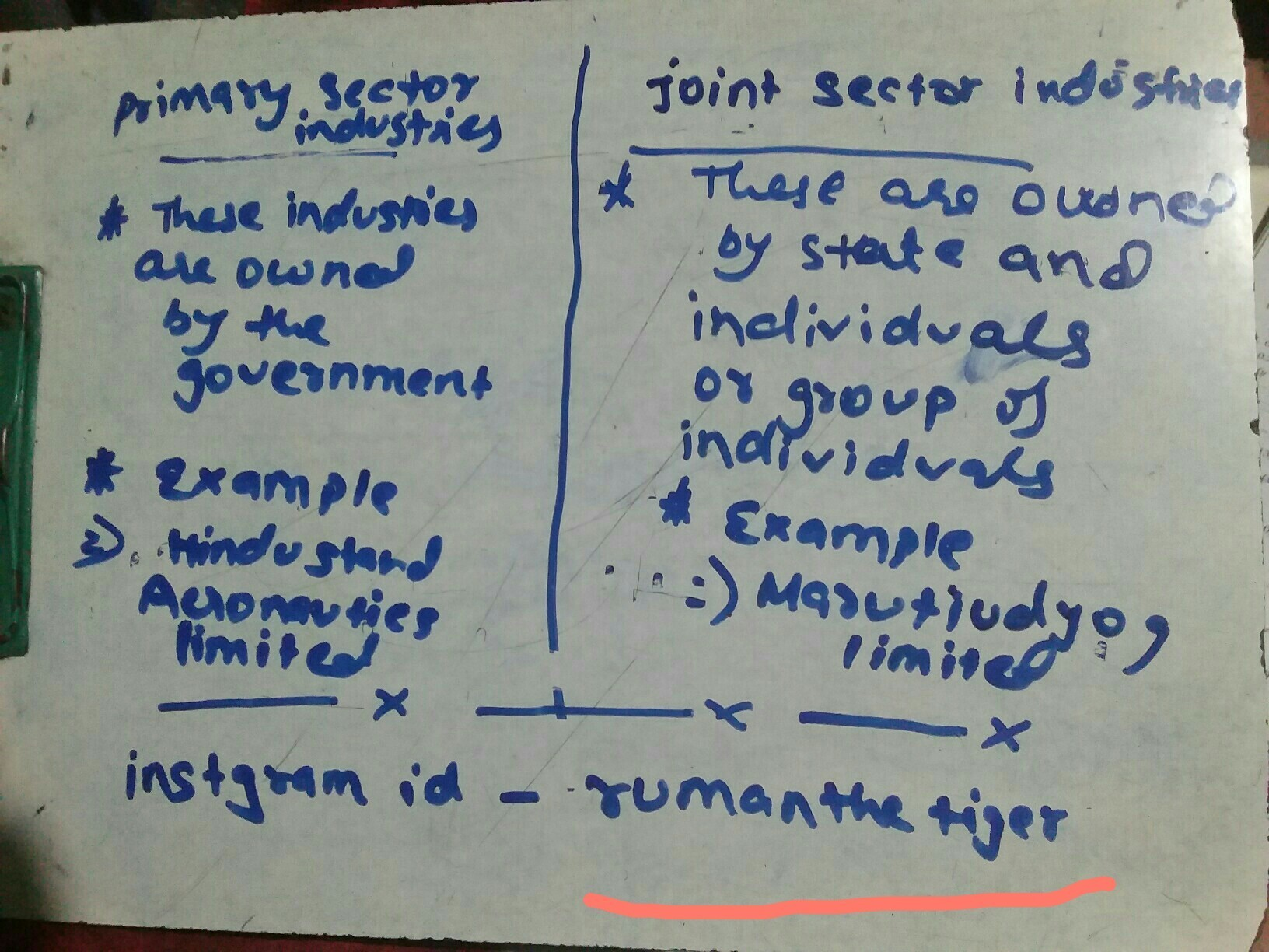 joint sector