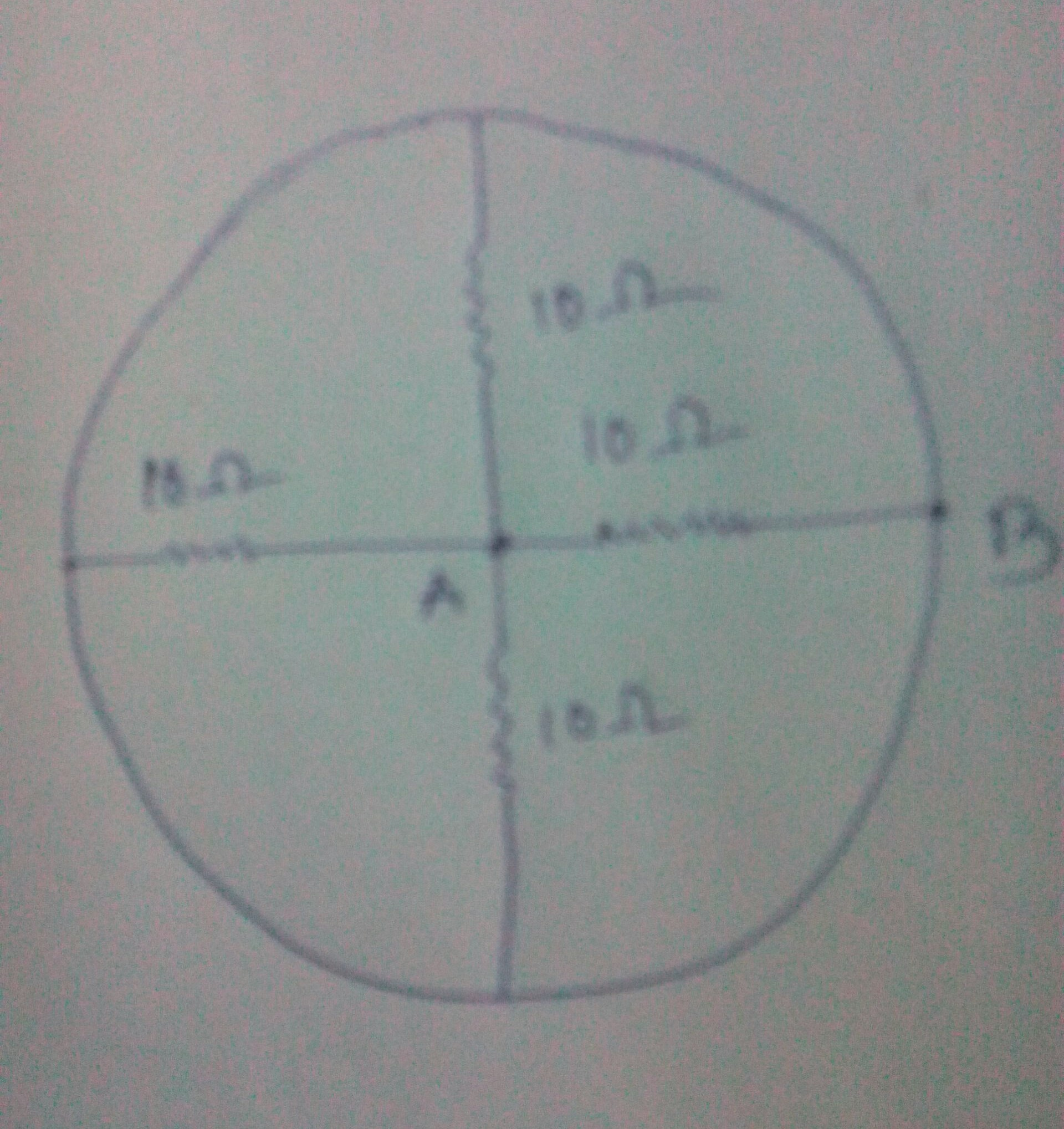 plz help me in this circuit problem. find the resistance between the ...
