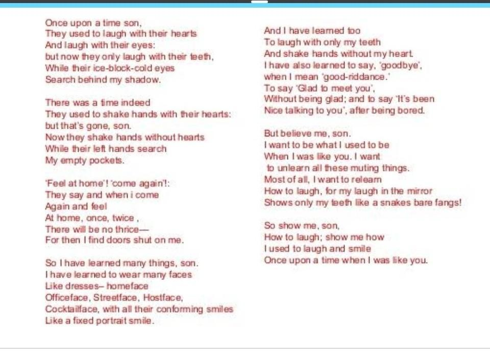 Once Upon A Time Poem Summary Brainlyin