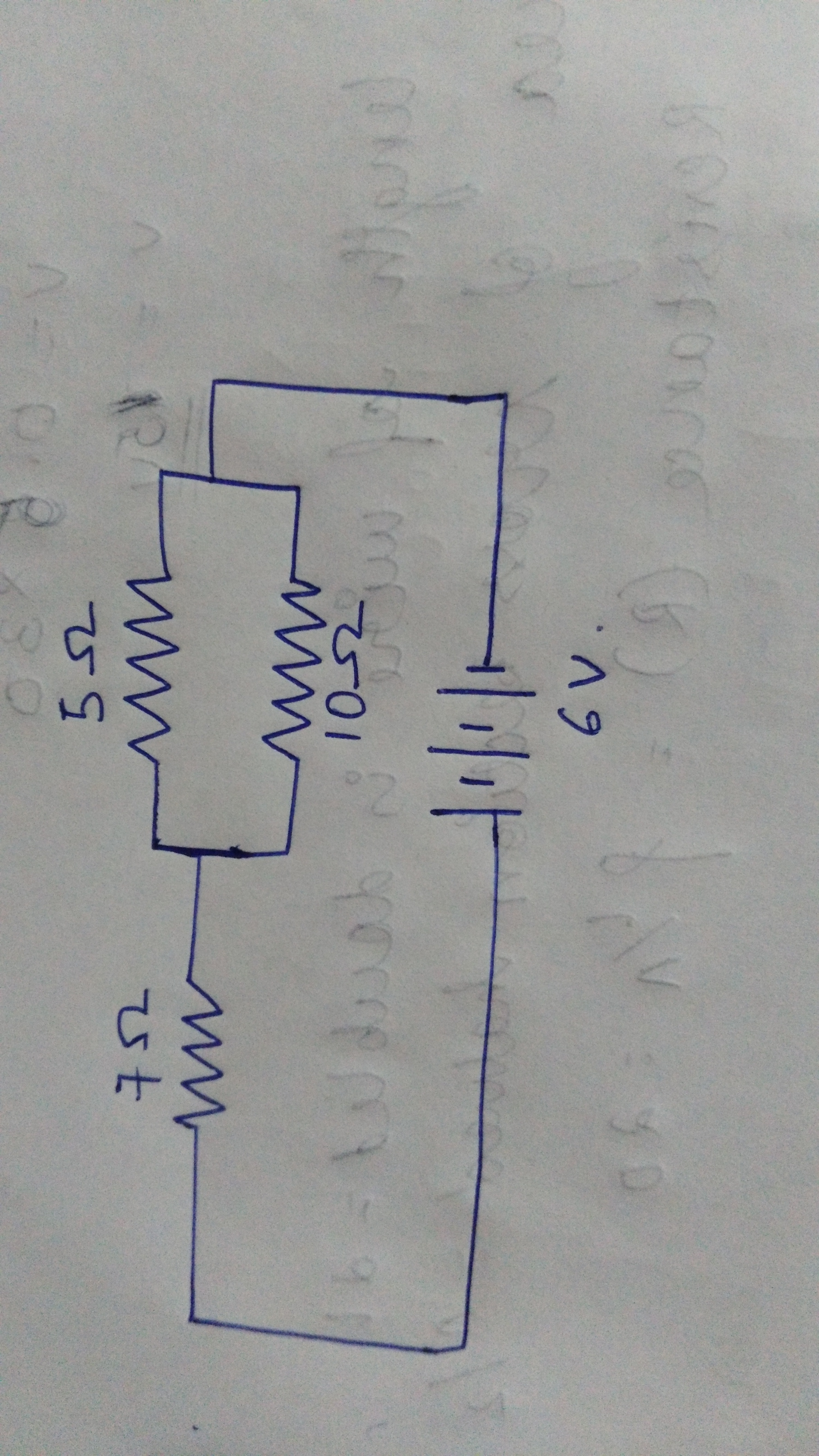 For The Circuit Shown In Diagram Calculate I Resultant Resistors Parallel And Series Wiring Download