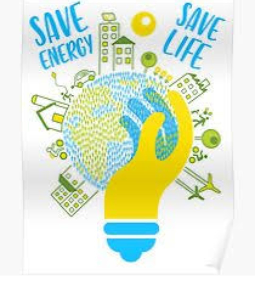 Design a poster on save energy with slogans - Brainly in